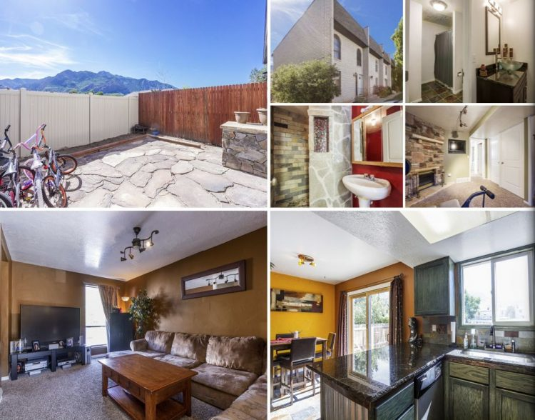 Remodeled 3 Bedroom Condo for Sale in Ogden Utah with Mountain Views