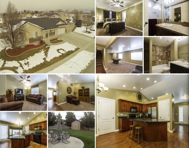 4 Bedroom 3 Bath Rambler Home For Sale In Layton Utah With Rv Pad