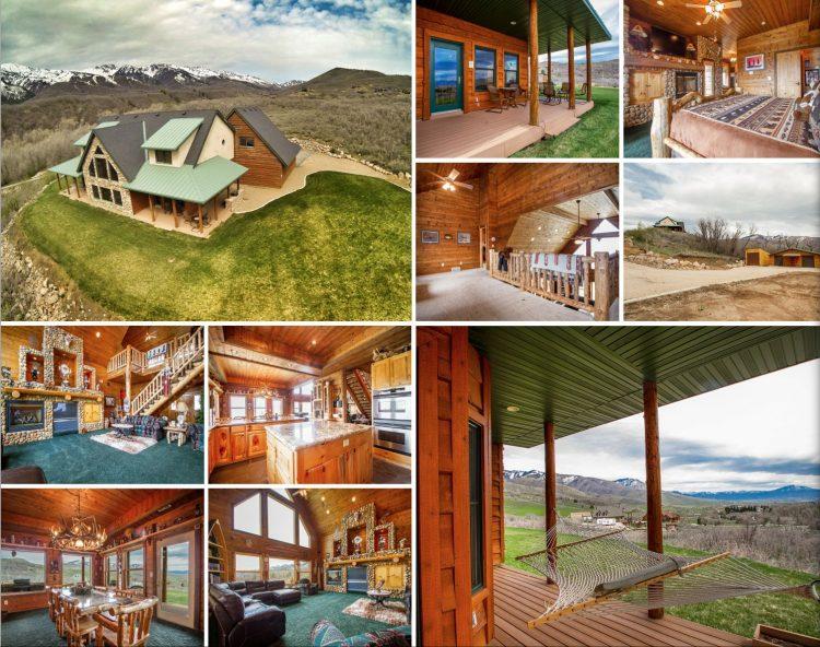 4 bedroom luxury cabin horse property home for sale ogden