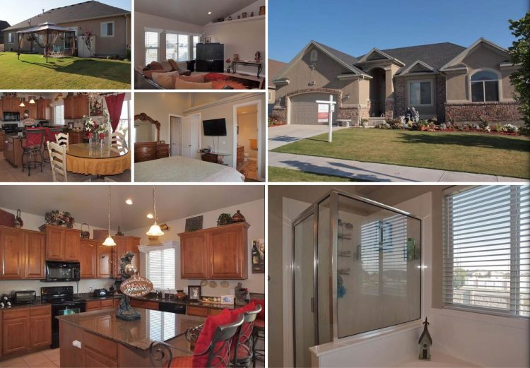 Riverton Utah Rambler Home For Sale Mother-In-Law Suite