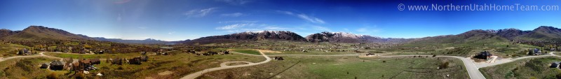 Ogden Valley Spring Panorama 1