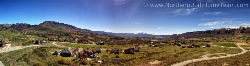 Ogden Valley Spring Panorama 2