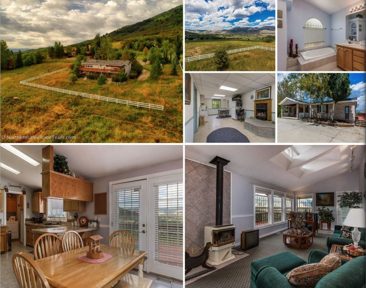 horse property home for sale ogden valley amazing views