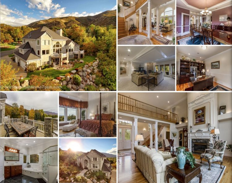 martineau custom luxury mountain home for sale in dominion cove ogden utah